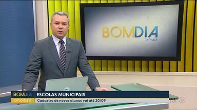 Rede municipal de ensino de Curitiba abre cadastro para novos alunos - O cadastro pode ser feito até o dia 20 de setembro.
