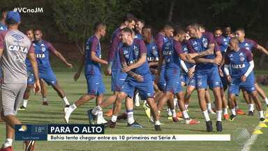 Bahia enfrenta o Inter nesta quarta-feira (22) pelo Campeonato Brasileiro - Veja os destaques do tricolor baiano.
