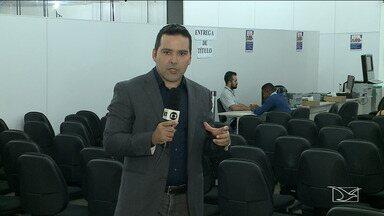 Solicitação de direito de votar em trânsito acaba nesta quinta-feira (23) - O repórter Olavo Sampaio tem mais informações.