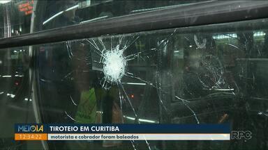 Bandidos tentam assaltar estação central em Curitiba - Duas pessoas foram baleadas
