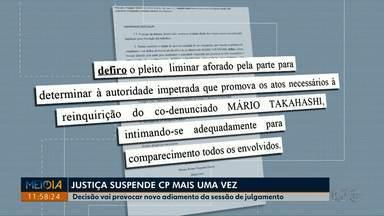 Justiça suspende Comissão Processante mais uma vez - Decisão vai provocar novo adiamento da sessão de julgamento dos dois vereadores afastados da Câmara Municipal de Londrina.
