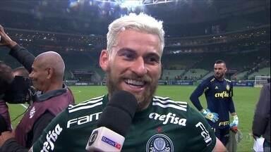 Em noite de Lucas Lima, Palmeiras vence Botafogo na Arena - Em noite de Lucas Lima, Palmeiras vence Botafogo na Arena