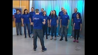 Começa hoje o Festival Internacional de Coros de Santa Maria - Um dos grupos participou do Jornal do Almoço desta sexta-feira.