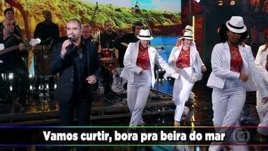 Diogo Nogueira canta 'Pé na Areia' - Cantor participa do Ding Dong