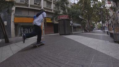 Cidade Vazia, Hora Do Skate!