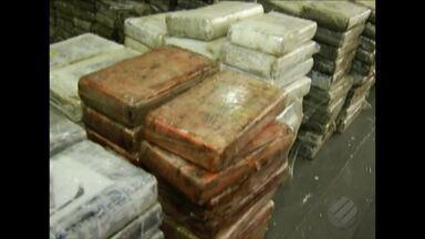 Polícia Federal realizou a maior apreensão de drogas da história do estado em Barcarena - De acordo com as investigações, a cocaína seria levada para a Europa.