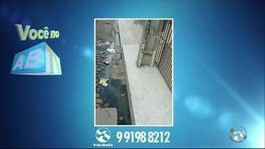 'Você no ABTV' mostra problemas em Caruaru - Ocorrência foi no bairro São Francisco.