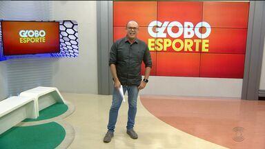 Globo Esporte CG: confira a íntegra do Globo Esporte desta segunda-feira (27.08.18) - Marcos Vasconcelos aborda o que é destaque no esporte da Paraíba