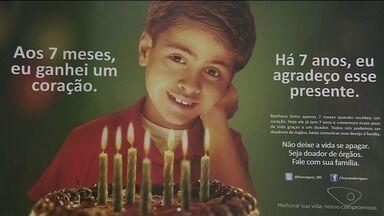 Quase mil pessoas estão na fila de doação de órgãos no ES - No Brasil, são mais de 32 mil pessoas.