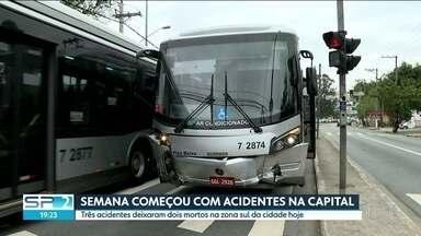 SP2 - Edição de segunda-feira, 27/08/2018 - Acidente com ônibus clandestino que saiu de São Paulo mata 4 e deixa mais de 30 feridos. Criminosos roubam cerca de 300 mil reais em cabos de cobre na estação de metrô Chácara Klabin.