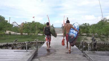 Swell na Indonésia