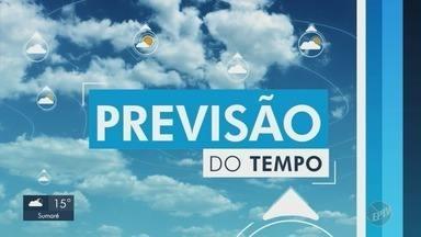Confira a previsão do tempo para Campinas e região - Sem previsão de chuva, Campinas registra máxima de 27ºC nesta quarta-feira (29).