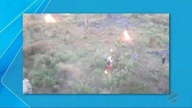 Clima ainda permanece tenso em Caarapó após ocupação de fazenda por indígenas - Segundo à polícia, trabalhadores rurais só conseguiram sair do local com escolta.