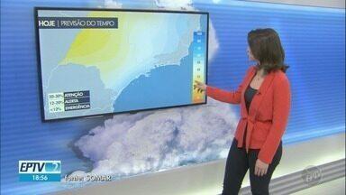 Temperatura em Campinas nesta quinta-feira será de 29ºC - Confira a previsão do tempo.