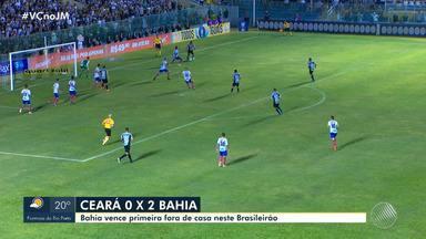 Bahia vence o Ceará por 2 x 0 no Brasileirão - Veja os destaques do tricolor baiano.
