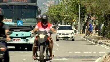 Obras causam desvios e mudam trânsito na Av. Osório de Paiva - Saiba mais em g1.com.br/ce