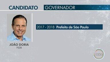 João Doria é o entrevistado no Link Vanguarda - Ele concorre ao cargo de governador.