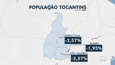 Pesquisa do IBGE apresenta número de população em municípios do Tocantins; confira - Pesquisa do IBGE apresenta número de população em municípios do Tocantins; confira