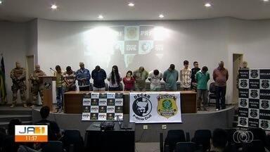 Operação combate o roubo de cargas e veículos em Goiás - Foram presas 24 pessoas no estado suspeitas de envolvimento no crime.