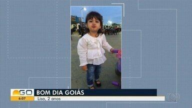 Telespectadores enviam fotos para o Bom Dia Goiás - Imagens são mostradas ao vivo.
