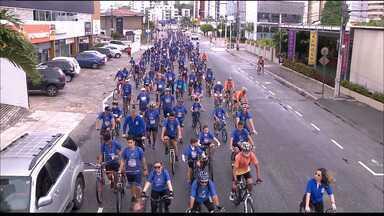 Circuito Ciclístico reúne atletas amadores em manhã de exercício em João Pessoa - Evento do Sest Senat aconteceu na manhã desse domingo, na capital