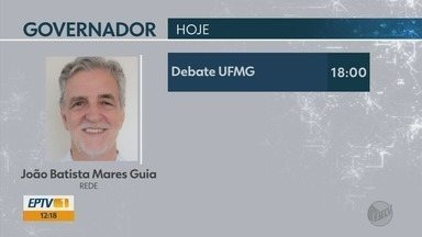 Confira a agenda dos candidatos ao governo de MG - Confira a agenda dos candidatos ao governo de MG