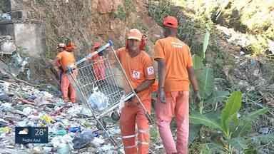 Prefeitura retira mais de 900 toneladas de entulho em córregos de Belo Horizonte - Executivo retirou móveis, pneus e materiais de construção.