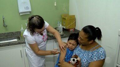 Vigilância Epidemiológica contabiliza dados da vacinação de crianças - Campanha faz imunização contra a paralisia infantil e o sarampo.