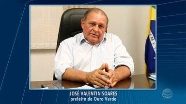 Prefeito de Ouro Verde, José Valentim Ferrari, morre vítima de câncer - Enterro está marcado para a tarde desta segunda-feira (3), no Cemitério Municipal.