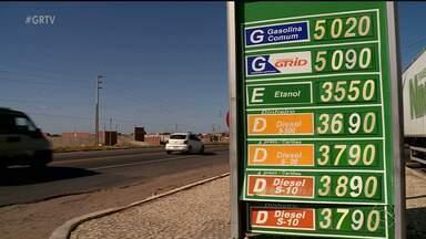 Preço do combustível sofre aumento em postos de Petrolina - Diesel e gasolina estão com valores mais altos.