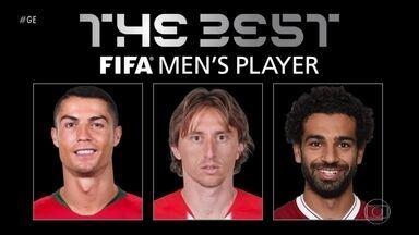 Após 11 anos, Messi fica fora da lista de melhores do mundo da Fifa - CR7 disputará prêmio de melhor do mundo com Modric e Salah.