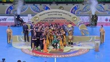 Sorocaba conquista título mundial de futsal - Final do Mundial de Futsal aconteceu entre duas equipes brasileiras. Sorocaba venceu por 2 a 0 o Carlos Barbosa e conquistou o bicampeonato mundial.