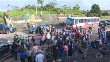Estado do RS receberá mais de 600 venezuelanos nesta semana - Estrangeiros serão levados para Esteio e Canoas.