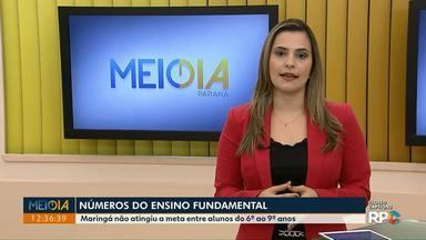 Ministério da Educação divulga dados de desempenho do Ensino Fundamental - Maringá não atingiu a meta entre alunos do 6º ao 9º .