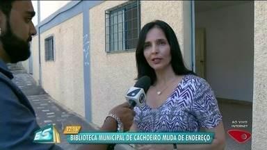 Biblioteca pública municipal de Cachoeiro de Itapemirim muda de endereço, no Sul do ES - Telhado e parte elétrica da biblioteca serão reformados.