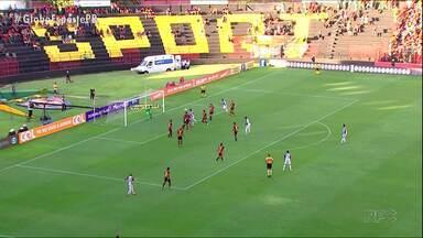 Paraná Clube perde mais uma e afunda na lanterna - Prejudicado pela arbitragem, Tricolor volta a perder e se isola no último lugar