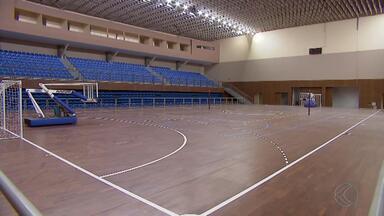 Complexo esportivo da UFJF está perto de ficar pronto - Unidade oferece alternativa à comunidade acadêmica e local. Faltam poucos detalhes para conclusão da obra