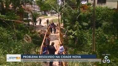 Fala Comunidade: Após denúncia da população, ponte é reformada - Programa mostra mais um caso resolvido.