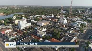 Ji-Paraná estreia telejornal - Município é a segunda maior cidade de Rondônia.