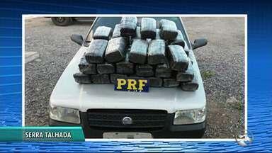 Polícias Militar e Civil realizam apreensão de drogas no Sertão e Agreste - Serra Talhada e Santa Cruz do Capibaribe estão entre as cidades.