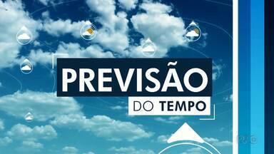 Massa de ar frio deixa o tempo aberto na terça-feira (04) - A mínima em Apucarana será de 10º, em Londrina, a máxima chega aos 24º.