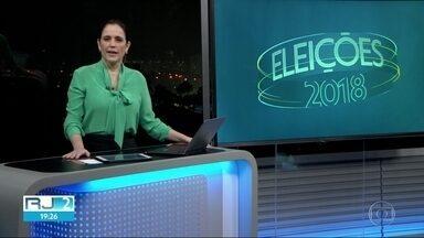 Veja como foi o dia de candidatos ao governo do Rio - Veja como foi o dia de candidatos ao governo do Rio
