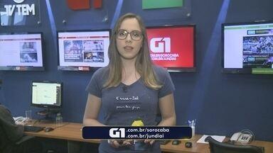 Carol Andrade traz os destaques do G1 Sorocaba e Jundiaí nesta terça-feira - A repórter Carol Andrade traz os destaques do G1 Sorocaba e Jundiaí nesta terça-feira (4).