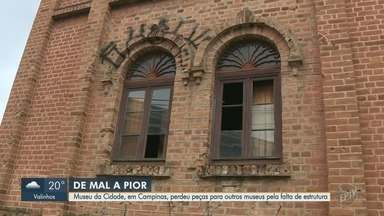 Nenhum museu de Campinas tem auto de vistoria do Corpo de Bombeiros - Cidade tem onze museus. Um deles, o Museu da Cidade, perdeu peças para outros museus pela falta de estrutura.