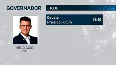 Confira a agenda dos candidatos ao governo do Ceará nesta quarta (5) - Saiba mais em g1.com.br/ce