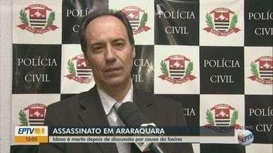 Dono de peixaria é encontrado morto dentro de comércio em Araraquara, SP - Suspeita é de que o homem de 69 anos tenha sido assassinado após uma discussão.