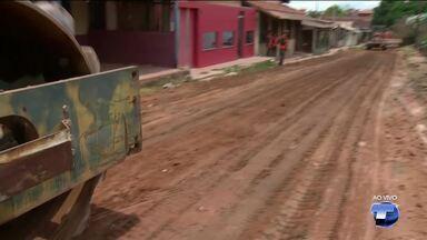 Exército executa obras de melhorias em três ruas no bairro Nova República - As ruas que estão em obras estavam em péssimas condições de trafegabilidade.