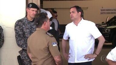 Paulo Câmara (PSB), candidato ao governo de PE, cumpriu agenda de campanha em Petrolina - O candidato falou sobre projetos de segurança pública para o interior do estado, caso seja reeleito.