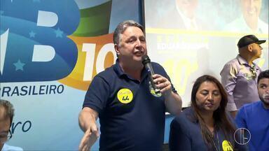 Anthony Garotinho (PRP) faz campanha em Benfica, no RJ - Assista a seguir.