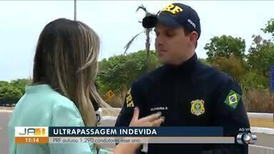 Polícia Rodoviária Federal realiza fiscalização durante feriado - Polícia Rodoviária Federal realiza fiscalização durante feriado